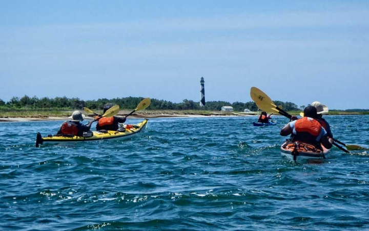 kayaking class for teens in north carolina