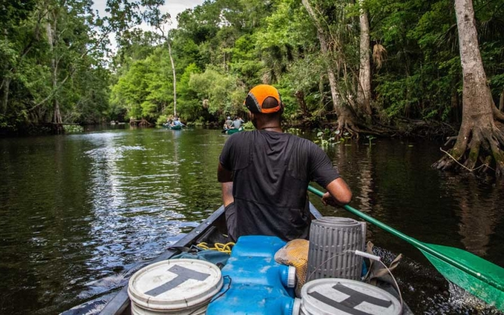 canoeing in florida for young adults