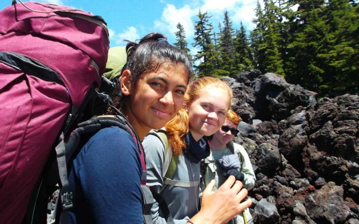 mountaineering course for high schoolers