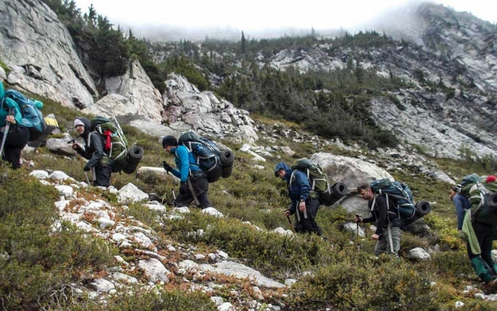 backpacking program for adults