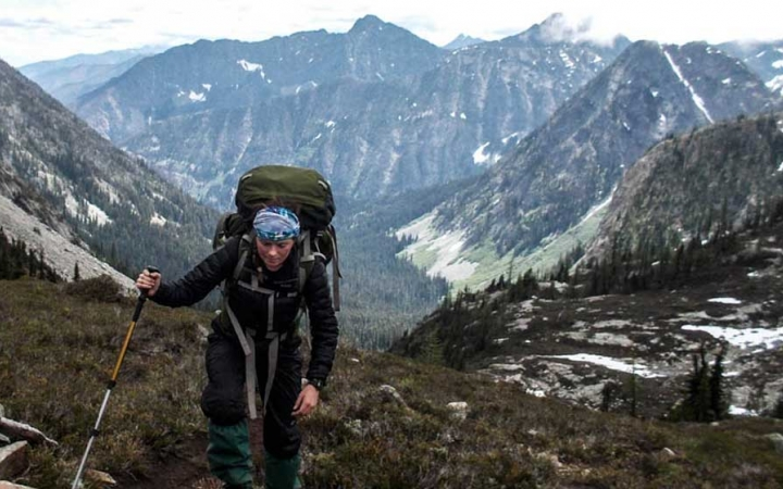 backpacking adventure for adults in washington