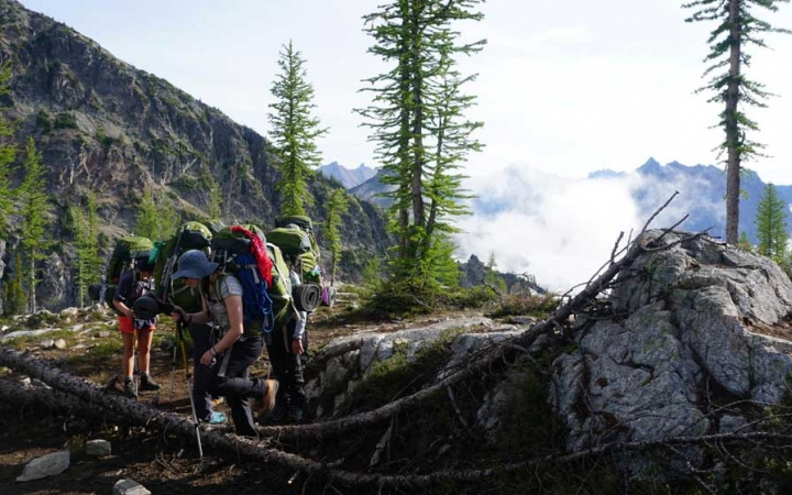 mountaineering program for adults