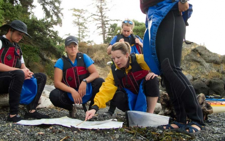 sea kayaking expedition for adults