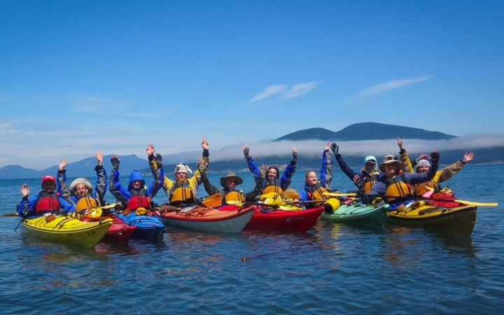 sea kayak adventures for teens