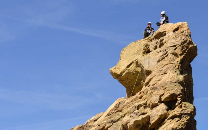 rock climbing program for adults