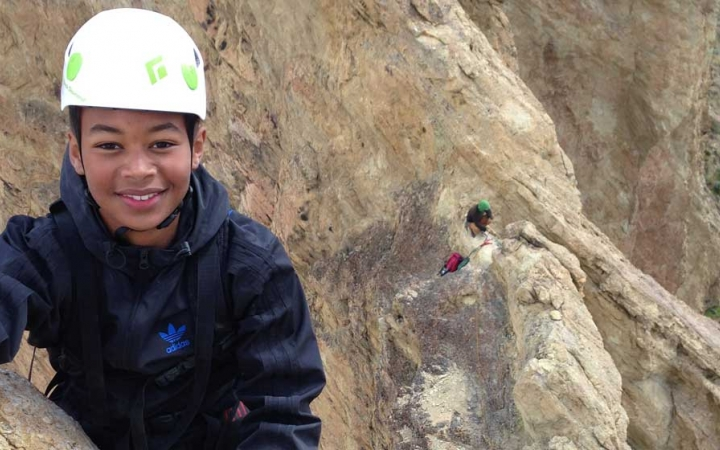 rock climbing summer program for teens in pacific northwest