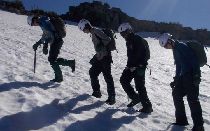 mountaineering program for teens in the northwest