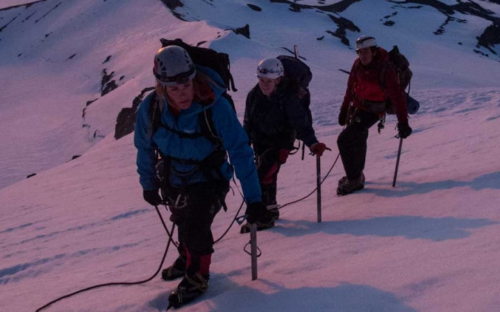 mountaineering adventure for young adults