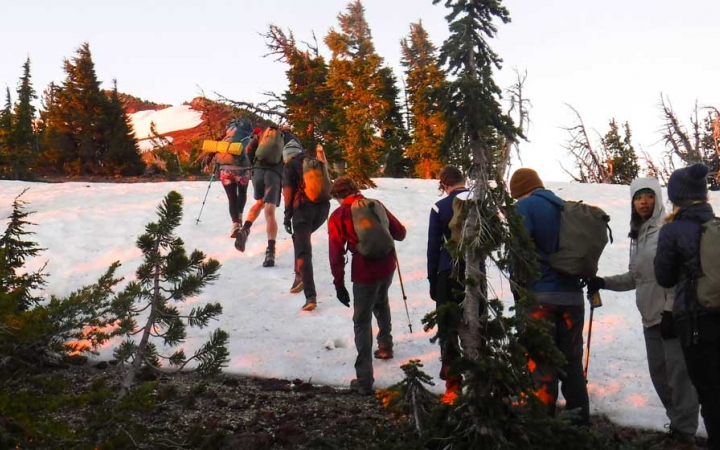 mountaineering adventure trip for teens