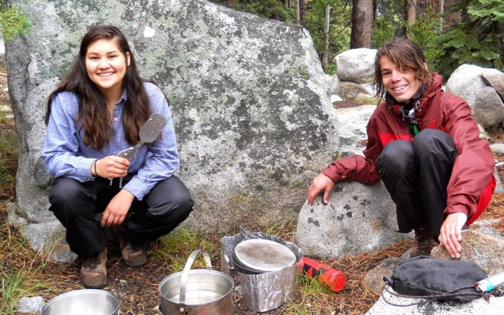 backpacking camp for teens in california