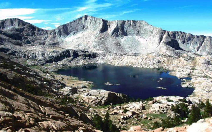 adults unplug on high sierra outdoor course