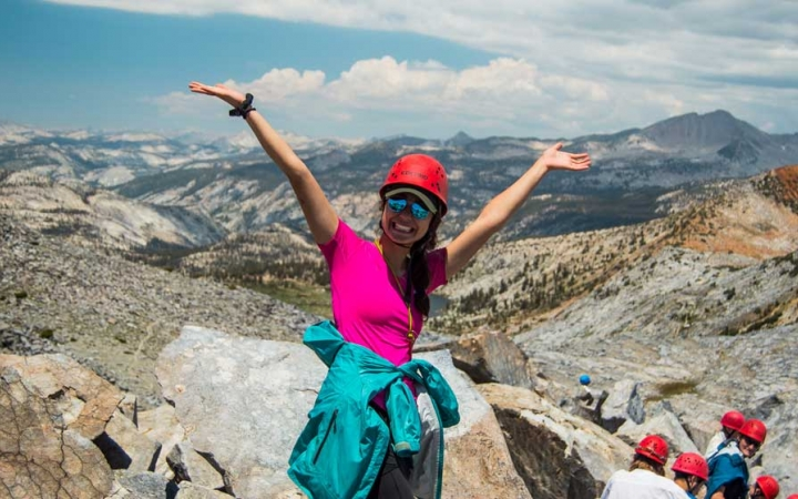all girls backpacking course in california