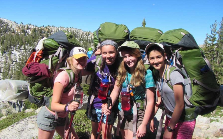 backpacking course for girls in california