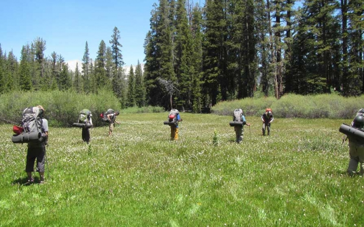 backpacking course for boys in california