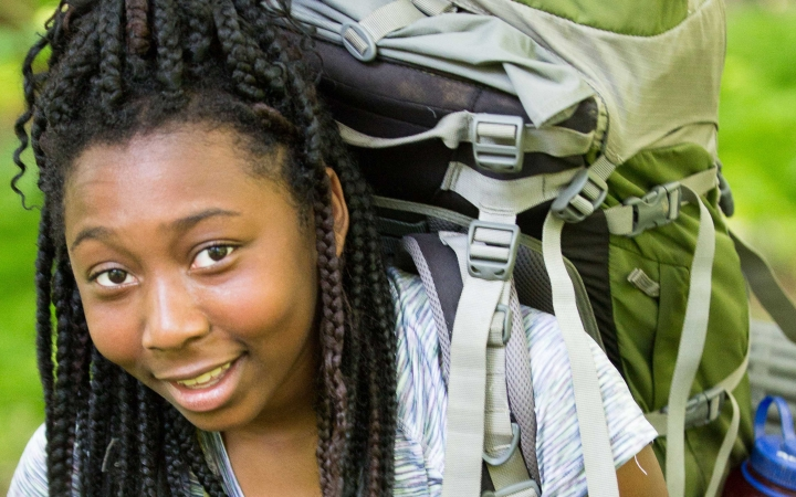 backpacking camp for teens in philadelphia