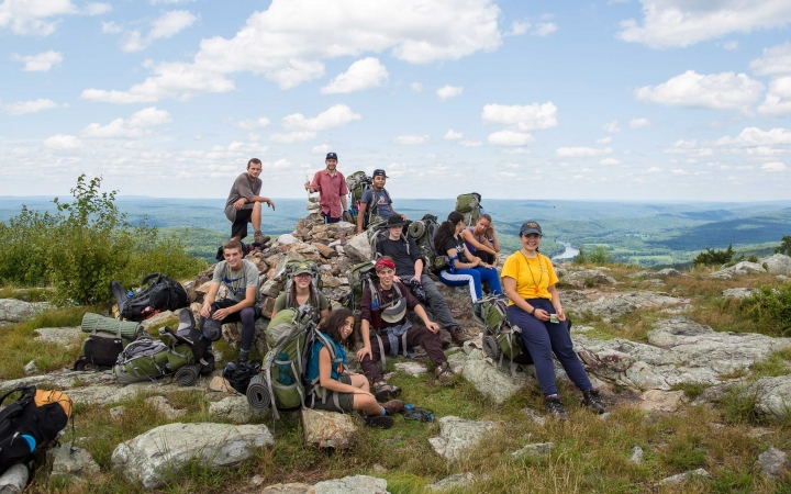 teens learn life skills on backpacking course in philadelphia