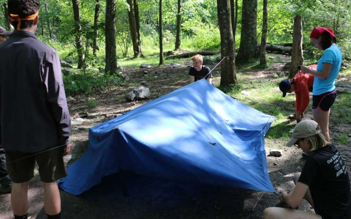 teens develop life skills on outward bound course in philadelphia