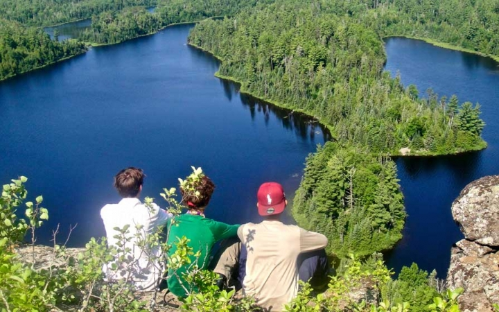 backpacking for teens in the boundary waters