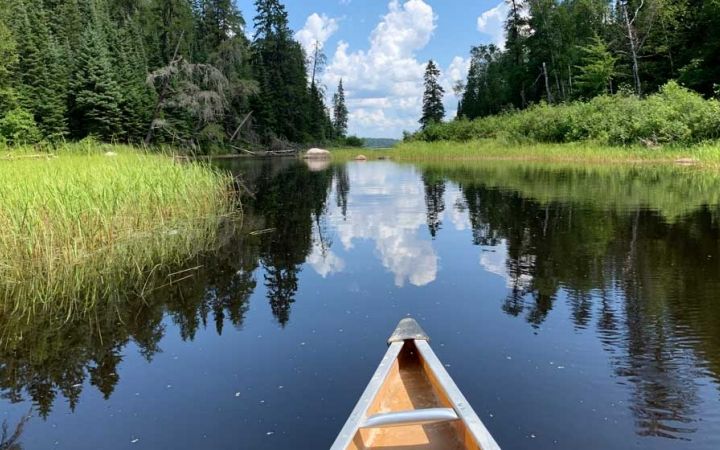 boundary waters canoeing class