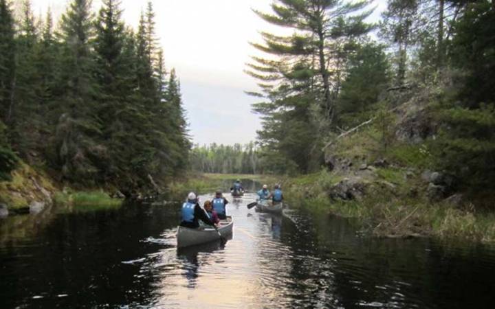 teen canoeing course in minnesota