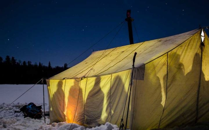boundary waters winter camping for adults