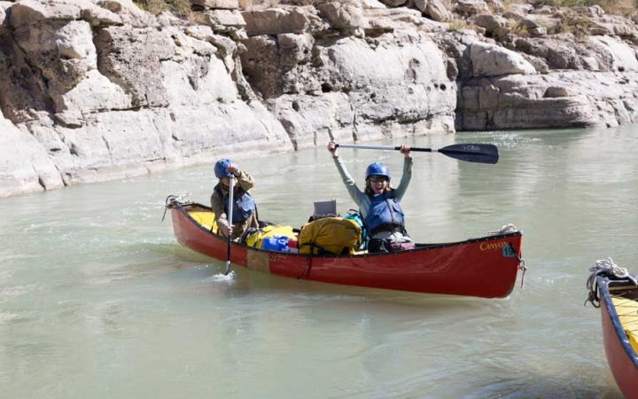 canoeing trip for at risk teens