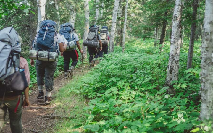 adult backpacking course