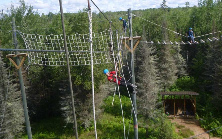 ropes course for adults