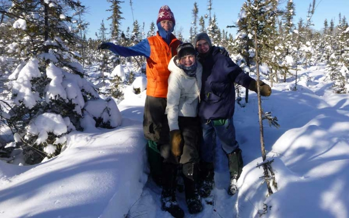 boundary waters winter camping program