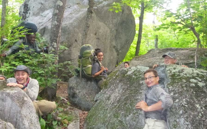 superior hiking trail backpacking trip for teens