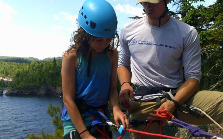 climbing camp for teens superior hiking trail