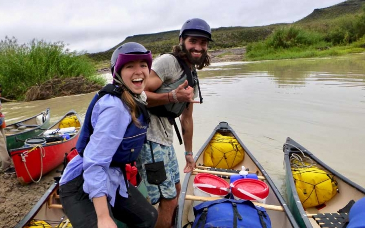 canoeing trip for adults in texas