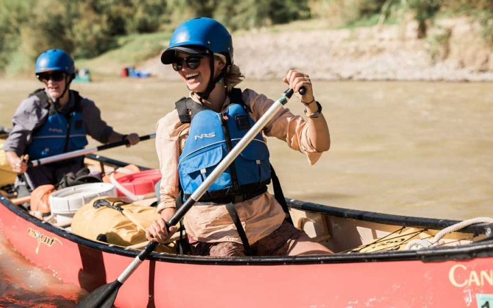canoeing trip for adults in big bend