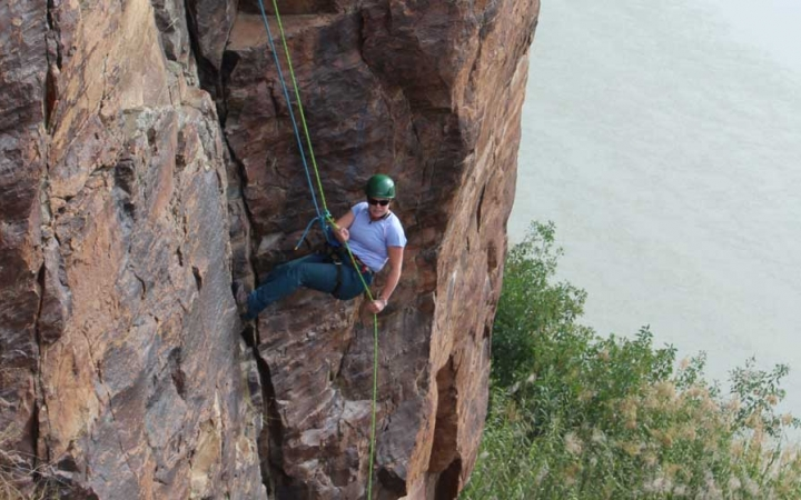 rock climbing class for adults