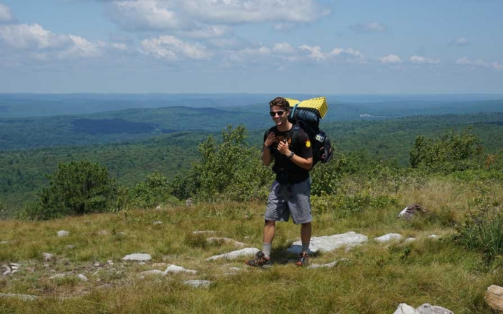 adults only backpacking trip near philadelphia