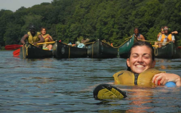 adults only canoeing trip in philadelphia