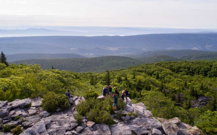 backpacking trip for teens near DC