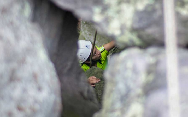 rock climbing trip for teens in DC