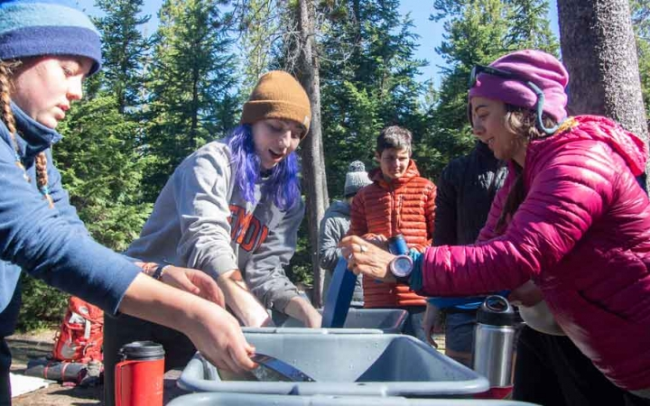 outdoor leadership program for teens in oregon