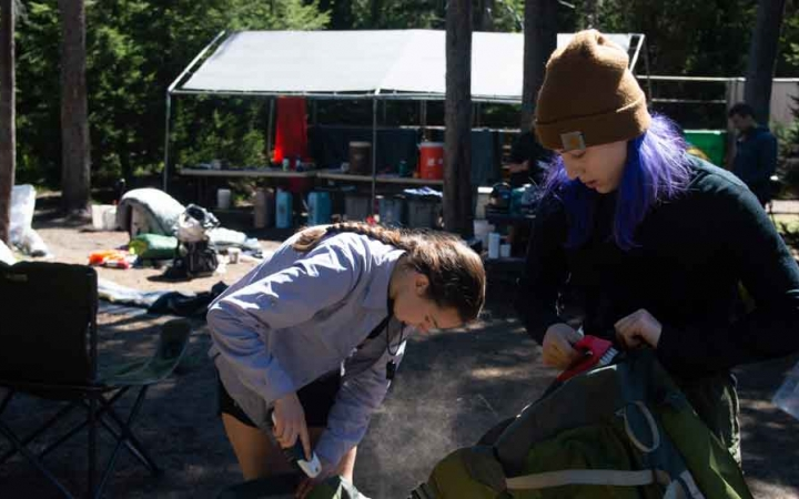 teens develop life skills on outward bound course