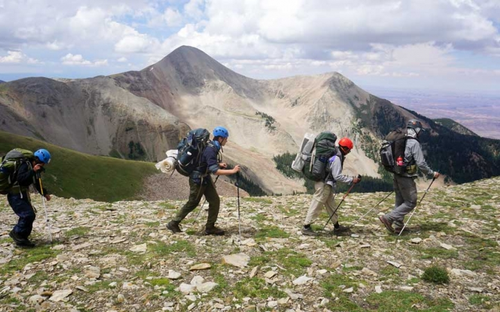 gap year backpacking program in the southwest