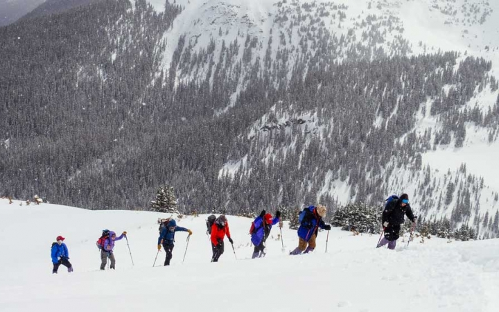 gap year skiing adventure program in colorado