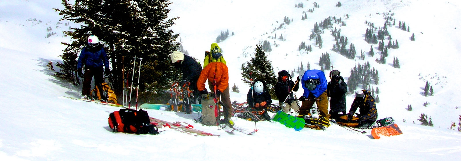 Backcountry skiing and snowboarding
